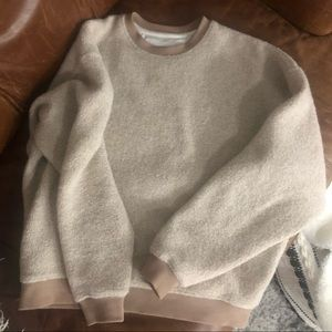 Outdoor voices recycled wool pullover